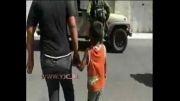 دستگیری کودکی ۵ ساله به دست رژیم صهیونیستی + فیلم