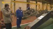 کارخانه تولید بیل مکانیکی کوماتسو-تولید انبوه کوماتسو