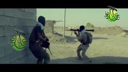 انهدام مخفیگاه نیروهای تروریست داعش - عراق