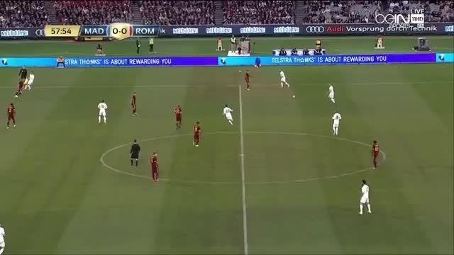 نیمه دوم بازی:رئال مادرید 0(6)-(7)0 آ اس رم {دوستانه}