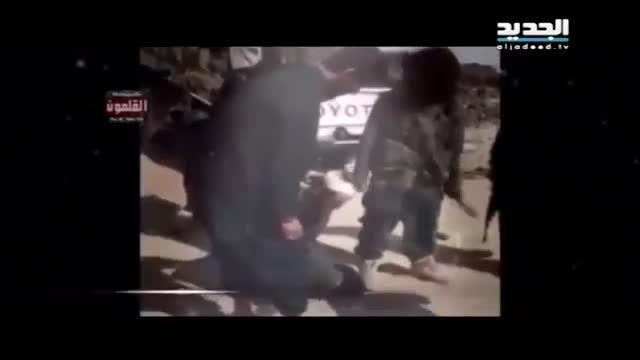 داعش و ذبح یک اسیر بخاطر نماز خواندنش - عراق - سوریه