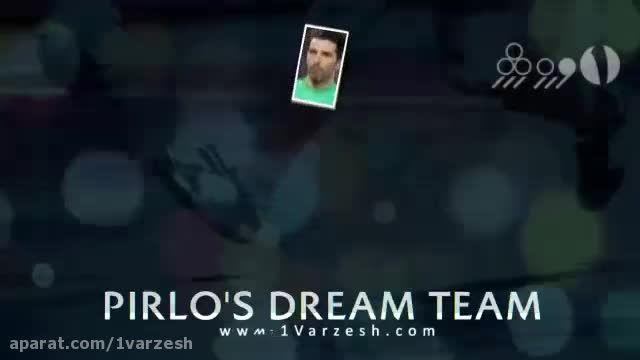 تیم رویایی انتخابی ستارگان فوتبال جهان