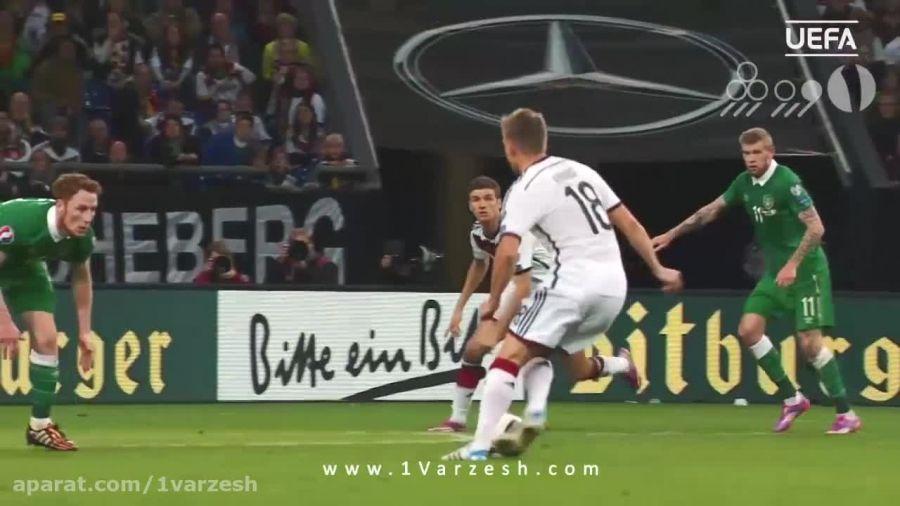 ۵ گل برتر تیم آلمان در مقدماتی یورو ۲۰۱۶