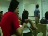 کتک زدن استاد به دانشجو