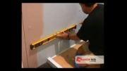 آموزش استفاده از چسب کاشی روی دیوار