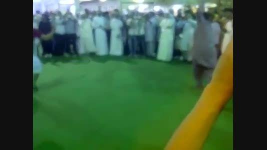 رقص مختلط عرب پاکستانی هندی و ایرانی با اهنگ بندری