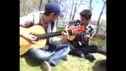 گیتار کلاسیک و اهنگ اسپانیایی