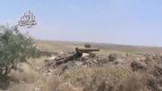 جدید از سوریه-شلیک سلاح ضد تانک توسط تروریست ها در سوریه