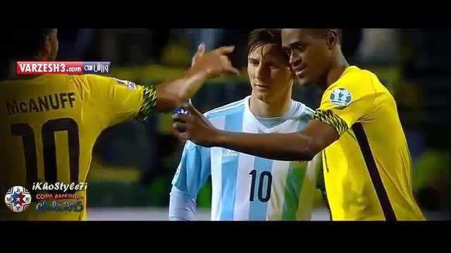 سلفی بازیکن جامائیکا با مسی