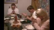 دعاکردن سک درهنگام غذاخوردن