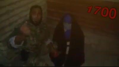 دستگیری زن انتخاری داعش قبل از منفجر شدن