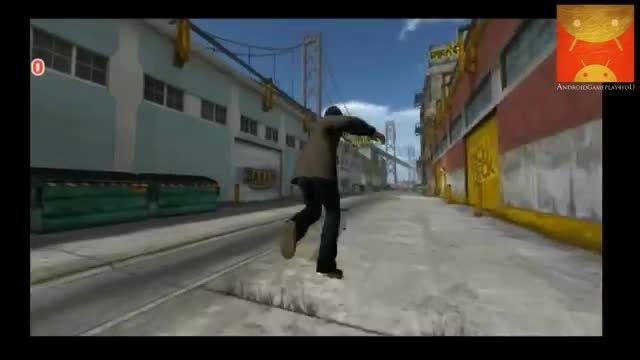 گیم پلی بازی اندرویدی Tech Deck Skateboarding