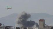 سوریه -بمباران مواضع تروریستها توسط میگ - 21 ارتش سوریه