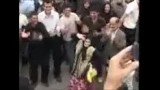استقبال از احمدی نژاد در رشت(خنده دار)