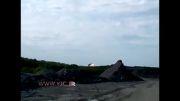 لحظه سقوط هواپیمای مالزی با 295 سرنشین در مرز روسیه!...