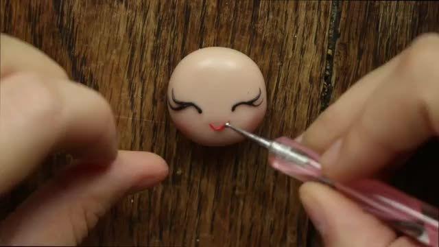 درست کردن عروسک با خمیر گل چینی