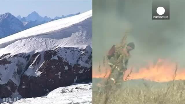 تصویر جدید ناسا و پدیده ال نینو - زمین در آتش