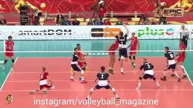 جادوی دستان معروف والیبال(والیبال مگزین)