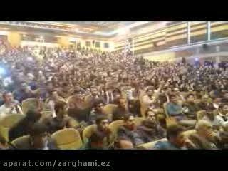 واکنش پرشور دانشجویان به پاسخ موشکی ایران به تهدیدات