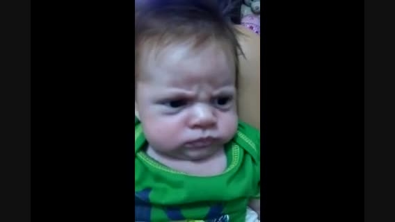 کاربران یوتیوب اخموترین کودک دنیا را معرفی کردند
