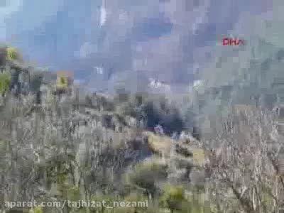 هلیکوپتر های روسی در حال گشت برای نجات خلبان دوم