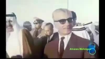 خوش رقصی ملک سلمان جلوی شاه ایران