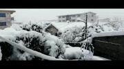 یکشنبه 13 بهمن بارش برف بی سابقه در نور