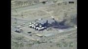 حمله نیروی هوایی عراق به مواضع داعش