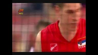 والیبال ایران-صربستان ست چهارم(1)