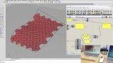 معماری پارامتریک با گراس هاپر و فایرفلای