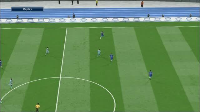 گل فوق العاده زیبا آگوئرو به تیم منچستر سیتی
