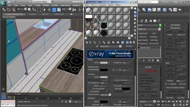 دانلود آموزش تصویری V-Ray و مدل سازی در 3Ds Max