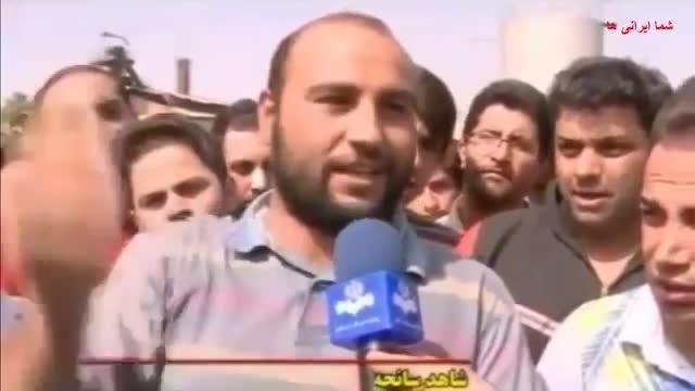 طبس و مصاحبه با بازماندگان حادثه