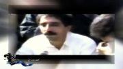 محسن مخملباف هنگام تدفین همسرش