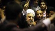 فصل بنفشه برق امید / موج حضور ایران در حمایت از روحانی