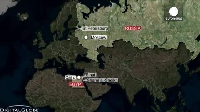سقوط هواپیمای مسافربری ایرباس روسیه در مصر