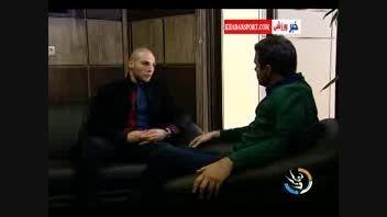 مصاحبه دوستانه با احسان روزبهانی قهرمان بوکس ایران