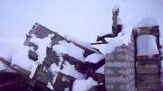 خسارت های برف شدید