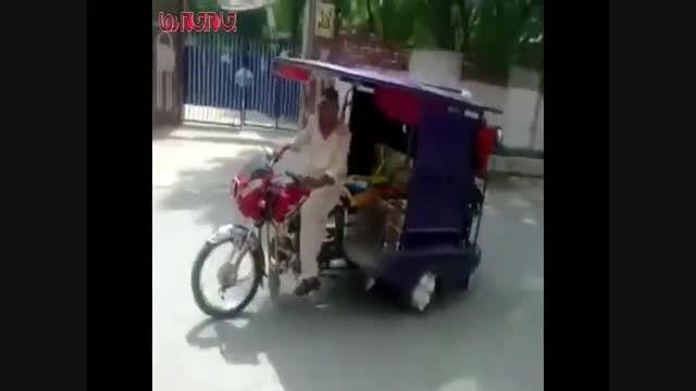 انتقام عجیب راننده از مسافران خسیس ...