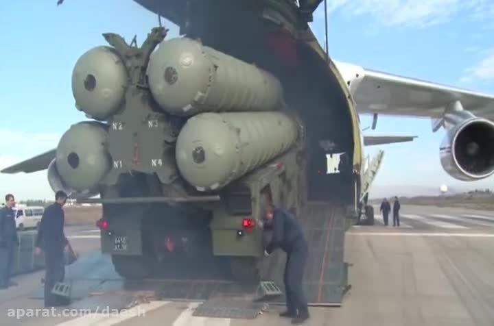 روسیه سامانه s400 را در سوریه مستقر کرد