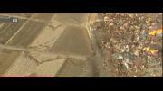 فیلمی از سونامی ژاپن پس از زلزله  ۸.۹ ریشتری