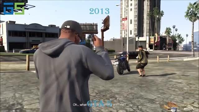 تغییرات جزئیات گرافیکی بازی های رایانه ای در60سال اخیر