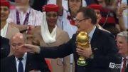 اهدای کاپ و مدال فینال جام جهانی - 1