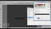 آموزش ساخت دکمه گرافیکی در فتوشاپ-2