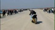 پلیس زیرک با موتور سیکلت