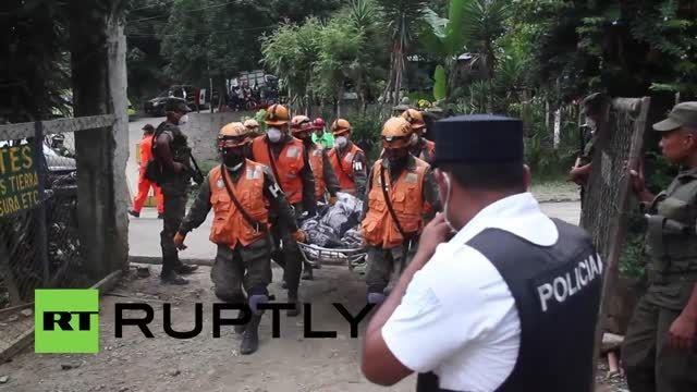 وضعیت قربانیان زلزله گواتمالا در یک نگاه