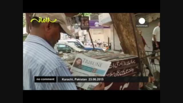 موج گرما در پاکستان