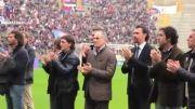 ادای احترام هواداران بولونیا به هافبک سابق تازه درگذشته