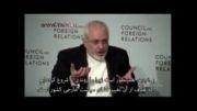 محمد جواد ظریف در شورای سیاست خارجی آمریکا