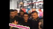 محمدرضا گلزار در افتتاحیه فروشگاه علی دایی